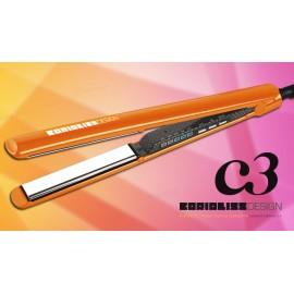 Fer à lisser C3 Orange Carbon Corioliss Design