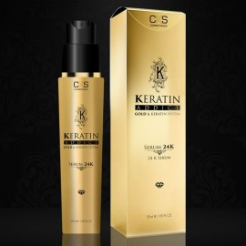 Keratin Addict Sérum 24K sans rinçage 50ml