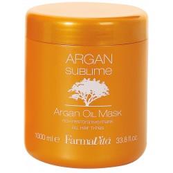 Argan Sublime Masque 1000ml Farmavita