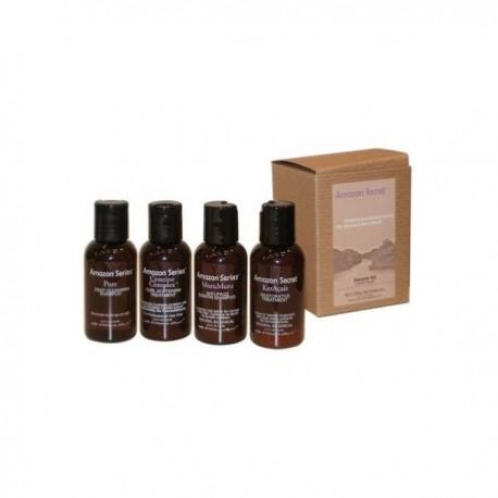 Amazon series mini kit lissage brésilien kératine à la cysteine 4 produits