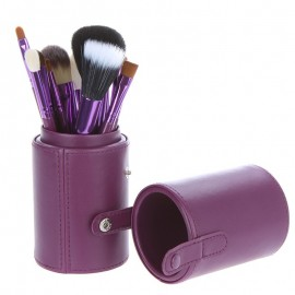 Set de 12 pinceaux professionnel Purple case Sibel