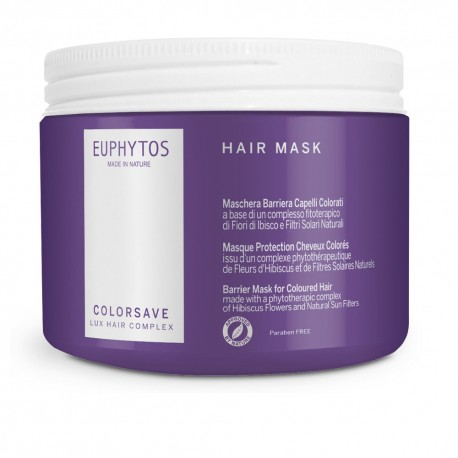COLORSAVE HAIR MASK LUX HAIR COMPLEX EUPHYTOS 500ml
